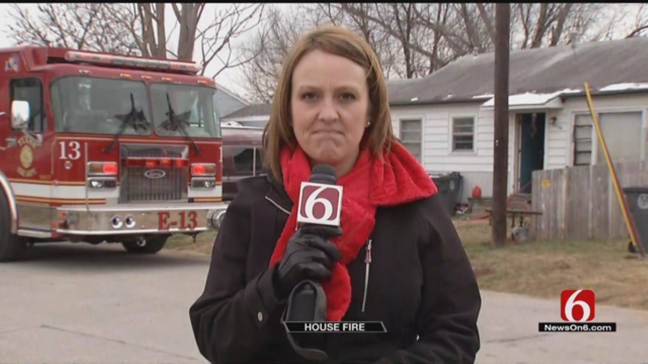 Tulsa Family, Pets Escape Electrical Fire