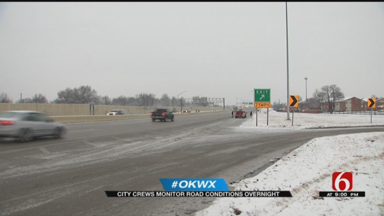 Tulsa Roads In Good Shape Following Friday Winter Weather