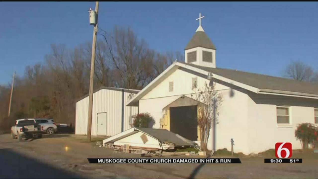 Muskogee Church Damaged After Semi Strikes Building