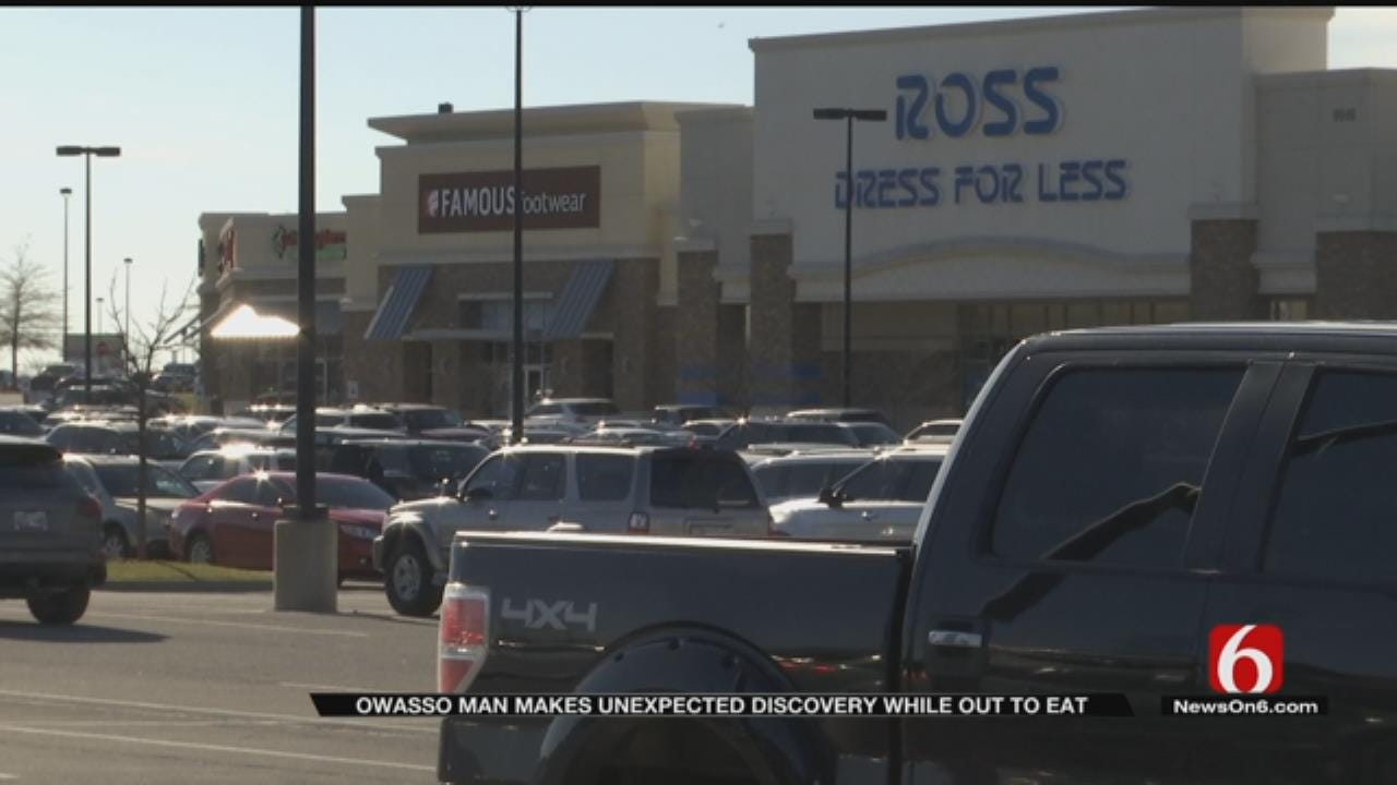 Meth Found In Busy Owasso Shopping Center Parking Lot
