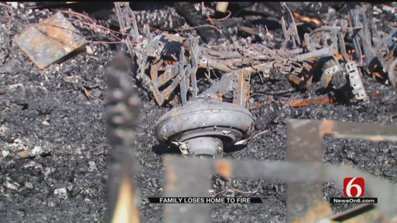 McAlester Marine Vet And His Family Loses Home To Fire