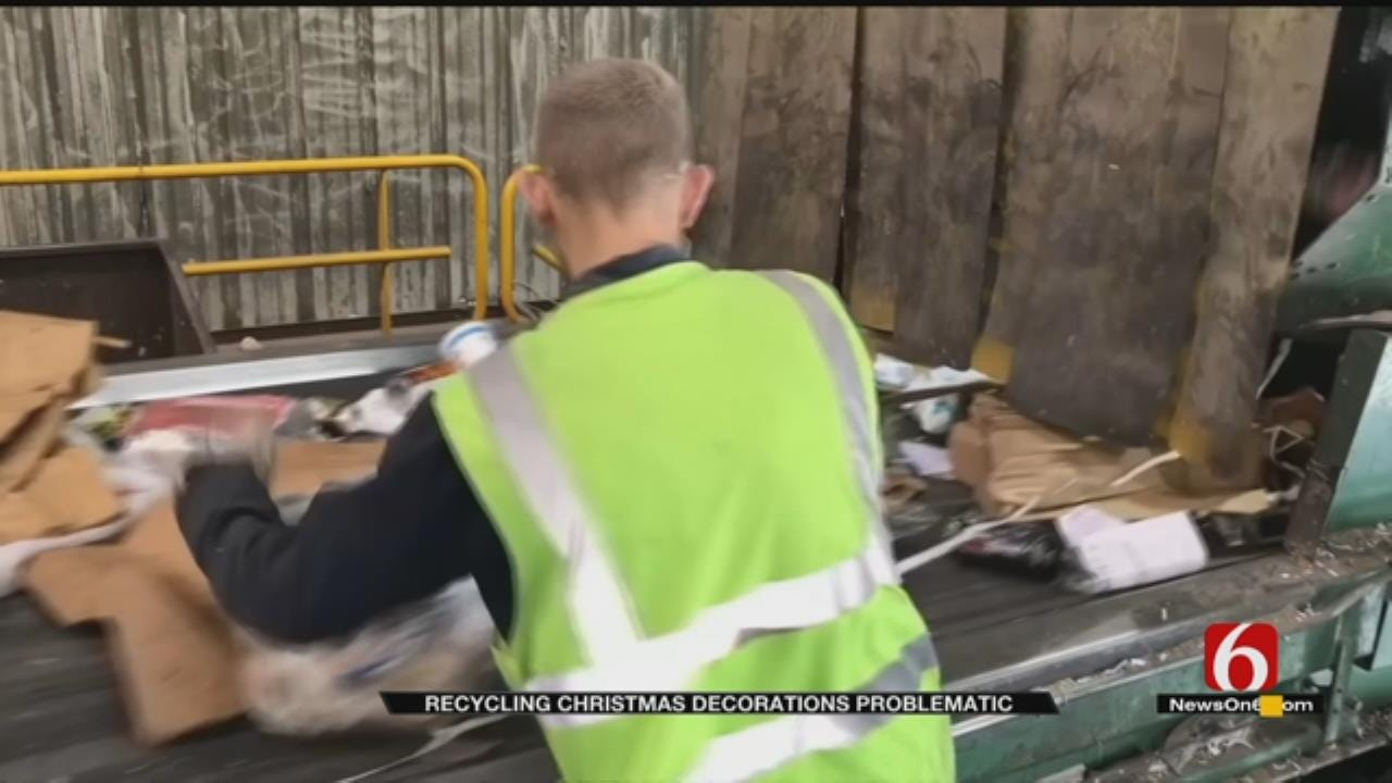 City Urging Residents To Use Discretion When Recycling Christmas Packaging