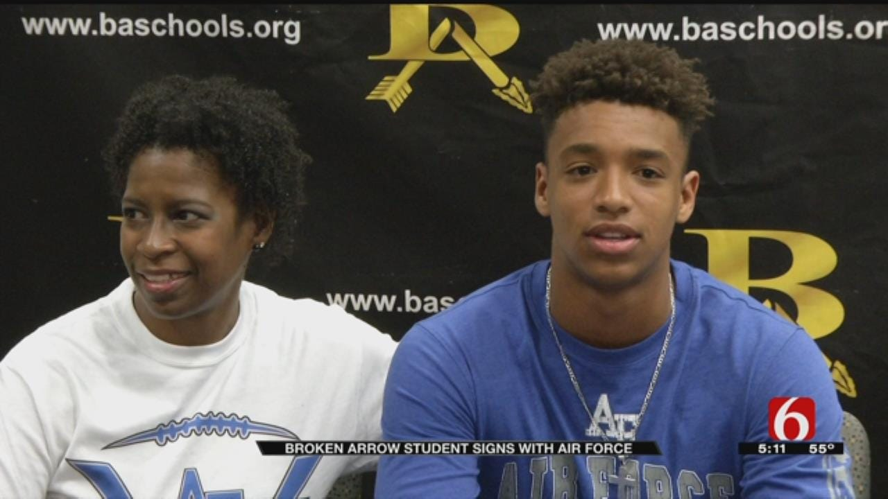 National Signing Day Means Chance To Serve Country For Broken Arrow Defensive Back