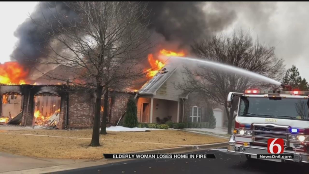Elderly Woman Injured In Fire At Bixby Retirement Community