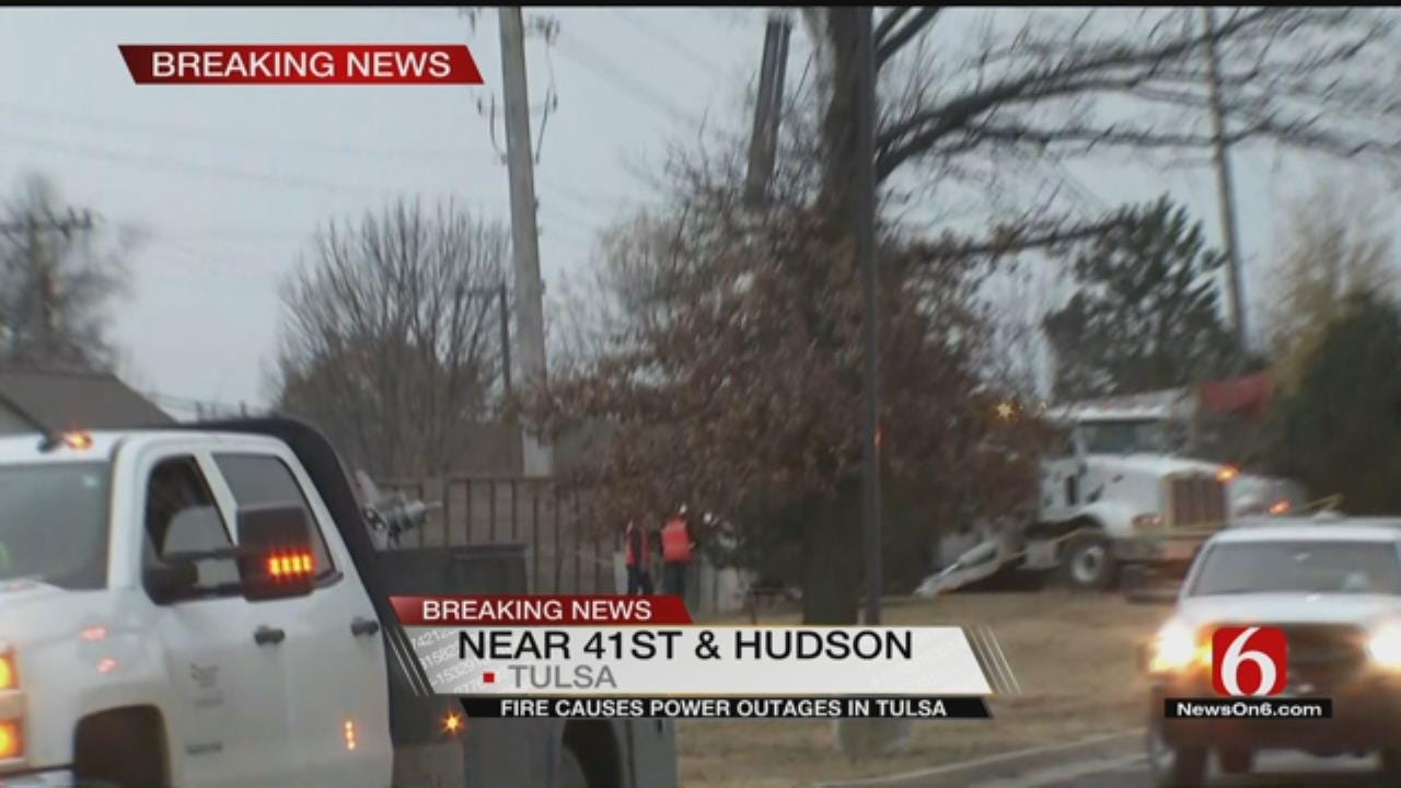PSO Reporting More Than 2,500 Outages Across Tulsa Area