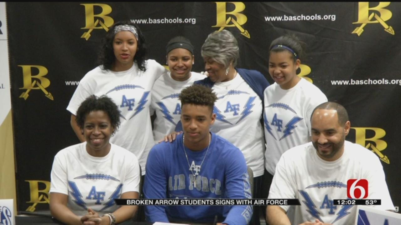 National Signing Day Means Chance To Serve Country For BA Defensive Back
