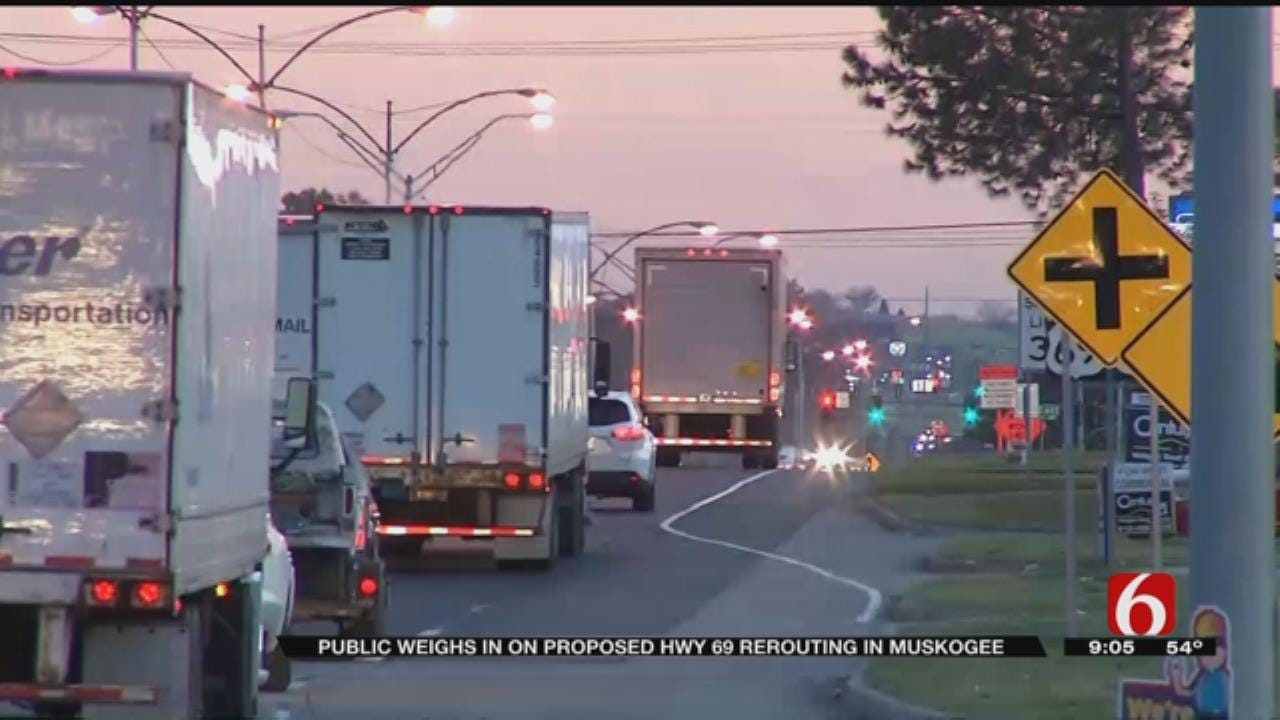 ODOT Hears Muskogee Citizens' Concerns Over Highway 69 Plans