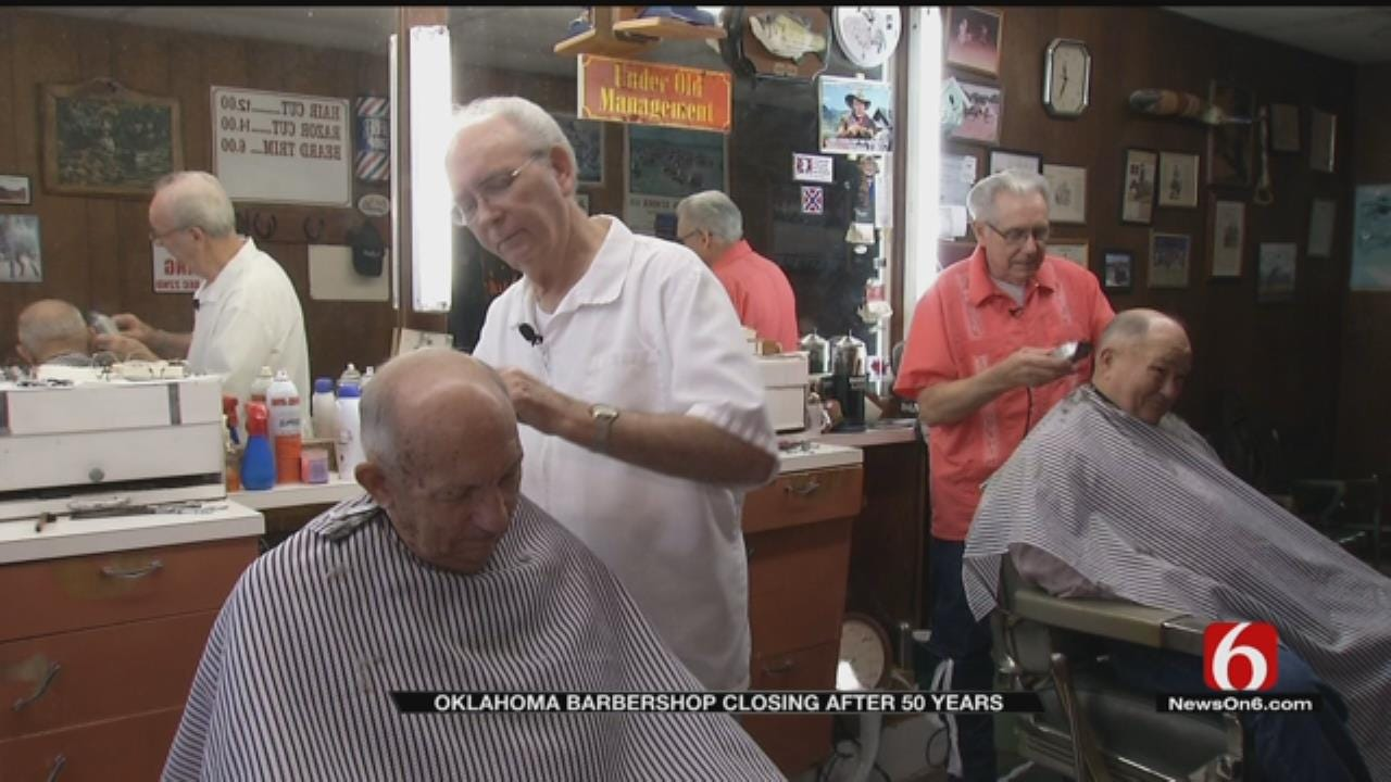 Collinsville Barbers To Close Shop After 50 Years