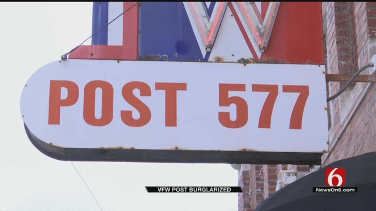 Thieves Hit Tulsa VFW Post Week Before Christmas