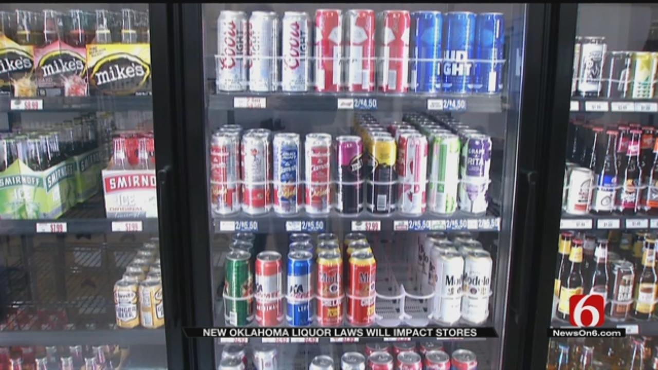 Oklahoma Stores Prepare For Liquor Law Changes