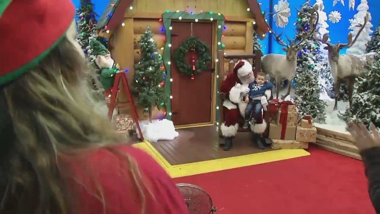 WEB EXTRA: Video From Broken Arrow's Bass Pro Shops Santa Wonderland