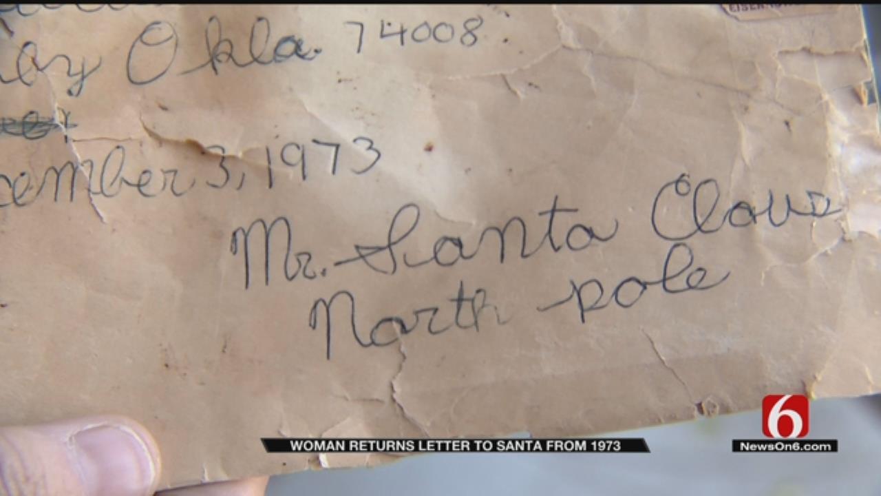 Lost Santa Letter From 1973 Gets Returned