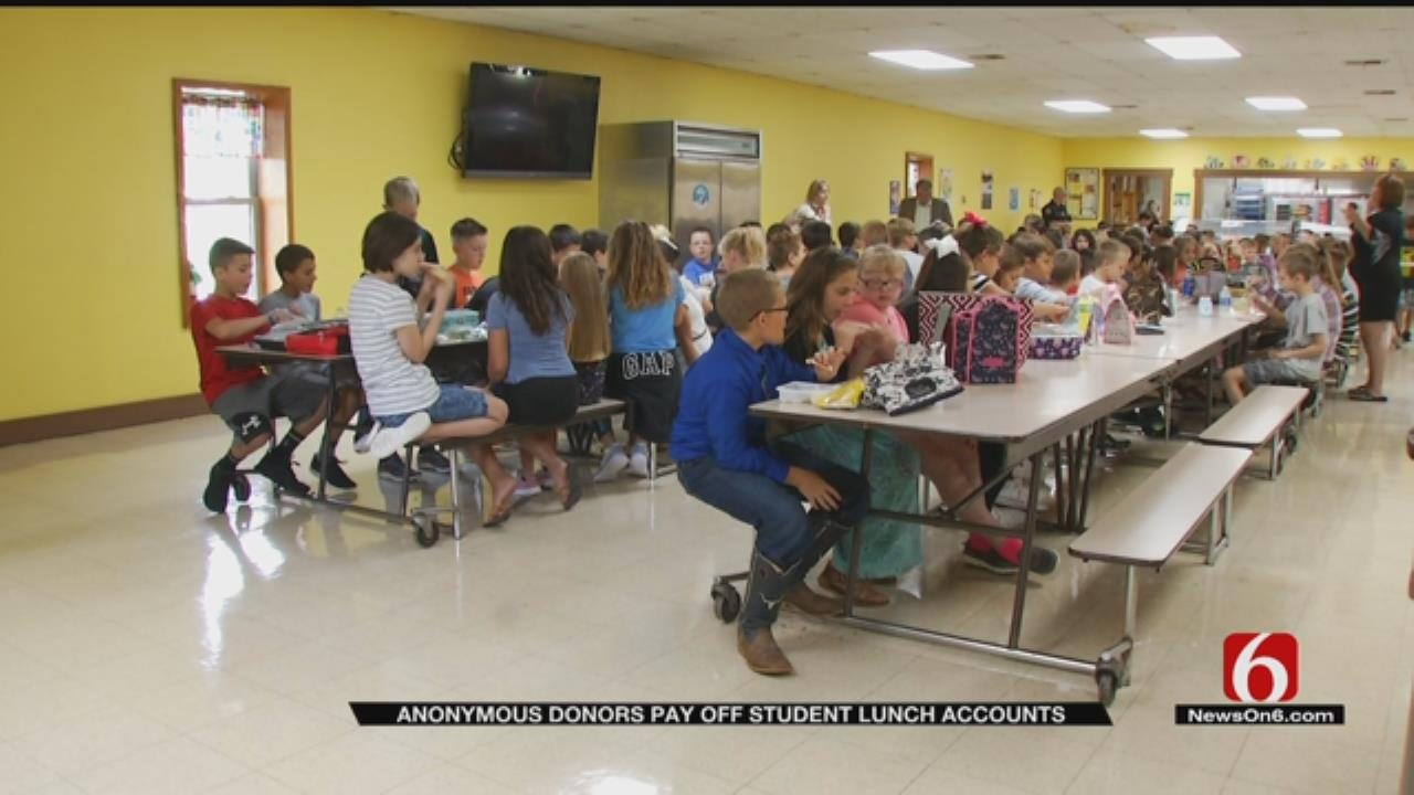 Anonymous Donors Pay Off School Lunch Accounts In Sand Springs