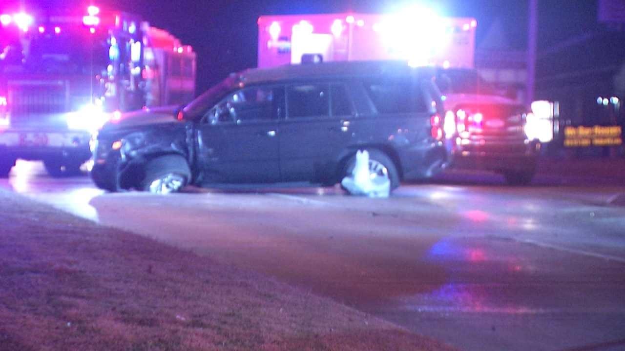 WEB EXTRA: Video From Scene Of Tulsa Crash