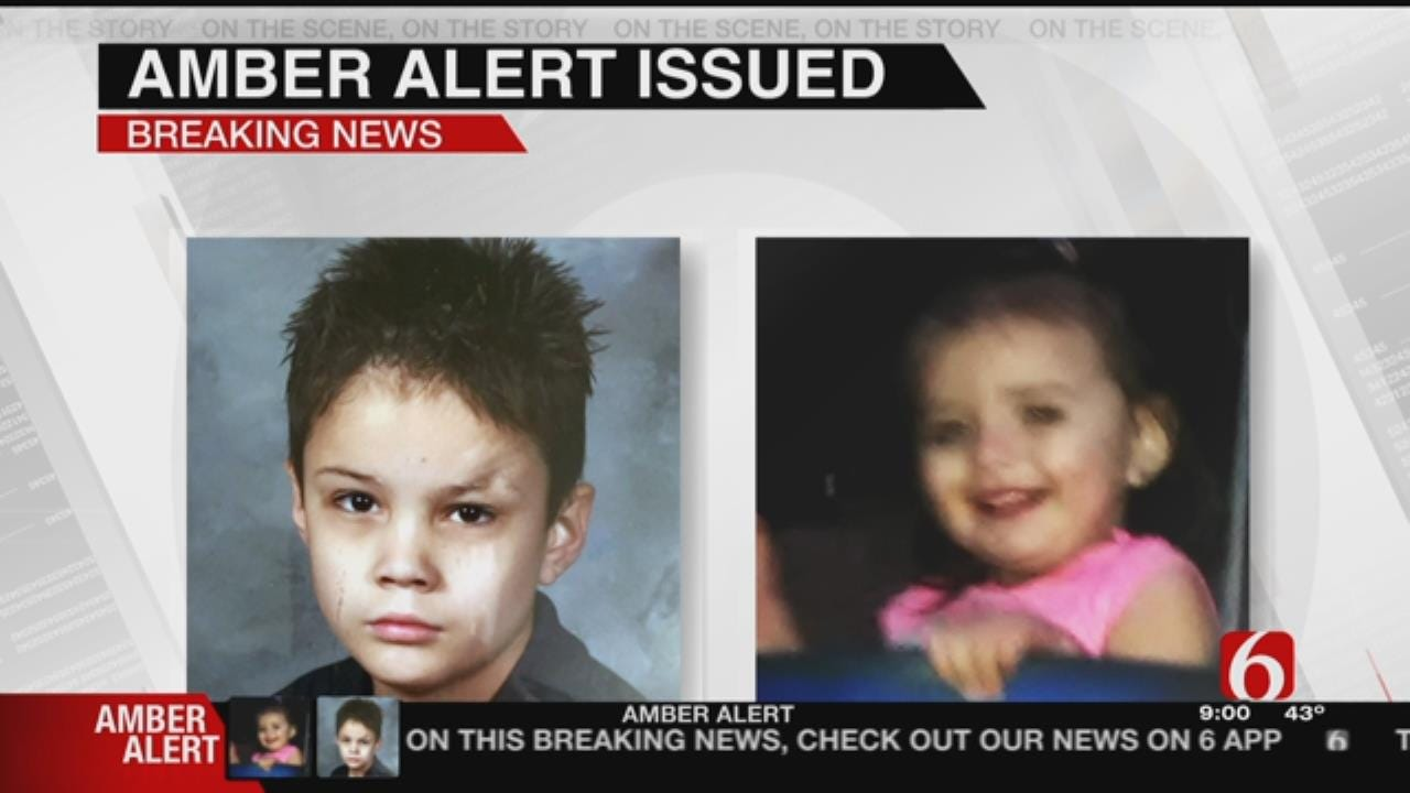 Amber Alert Issued For Two Kids Missing After Tulsa Shooting