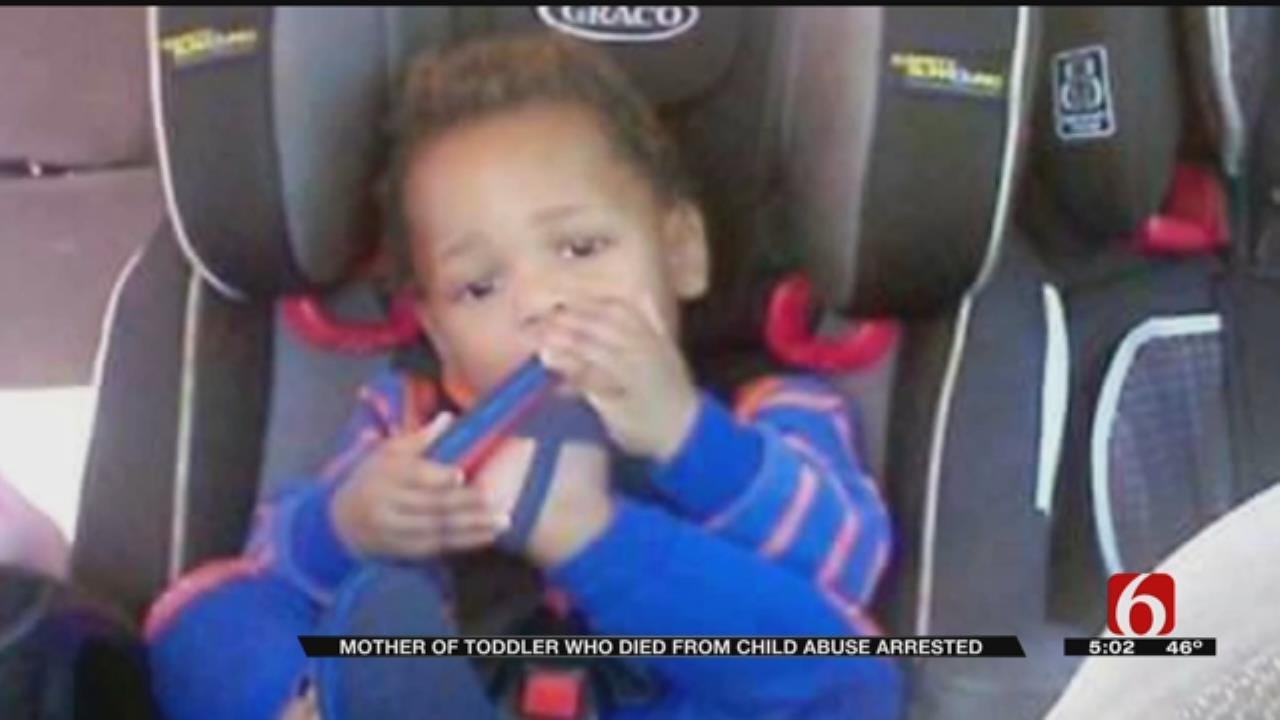 Tulsa Mother In Custody In Death Of Toddler