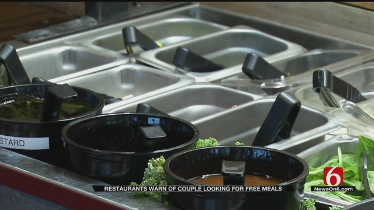 Oklahoma Restaurant Owner Says Be Wary Of Free Meal Seekers