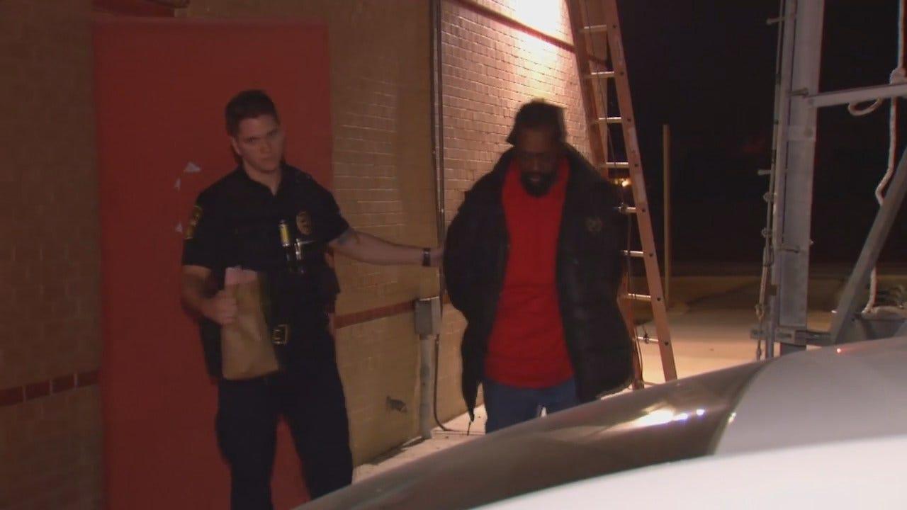 WEB EXTRA: Exclusive Video Of Glenpool Robbery Suspect