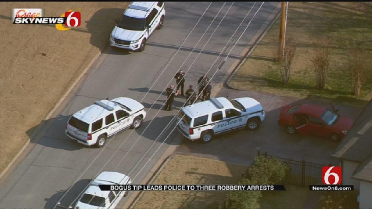 Bogus Tip Leads To Three Arrests In Tulsa Walgreens Burglary