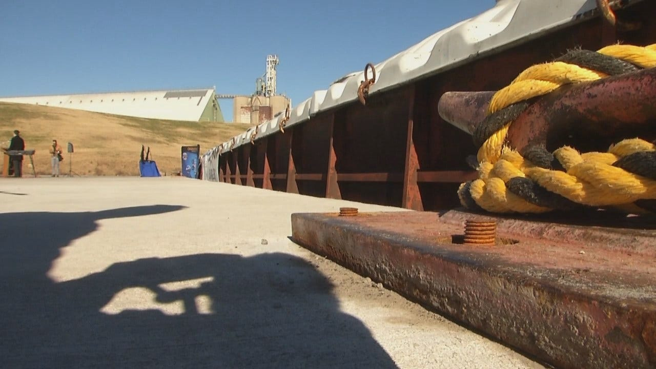 WEB EXTRA: Video From The Port Of Catoosa