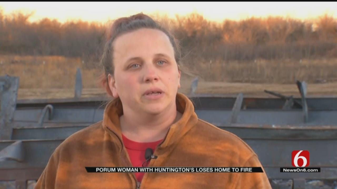 Woman Battling Deadly Disease Loses Home In Fire