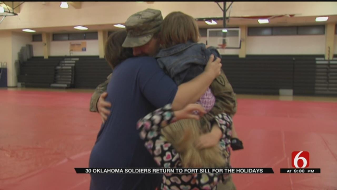 Soldiers Return To Fort Sill From Afghanistan