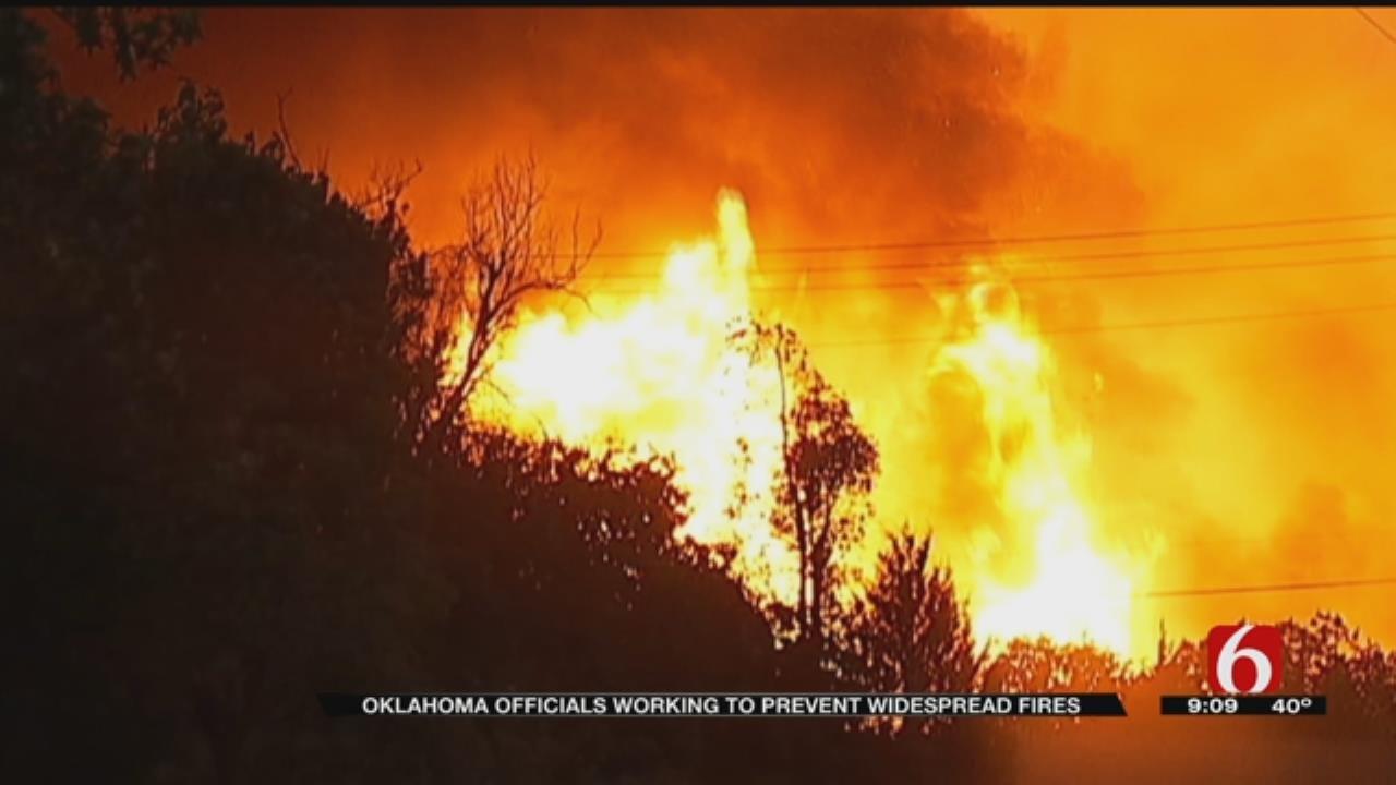 Oklahoma Firefighters Brace For Busy Wildfire Season