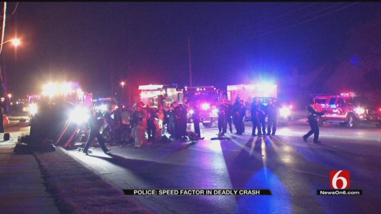 20-Year-Old Man Dies In Tulsa Rollover Crash