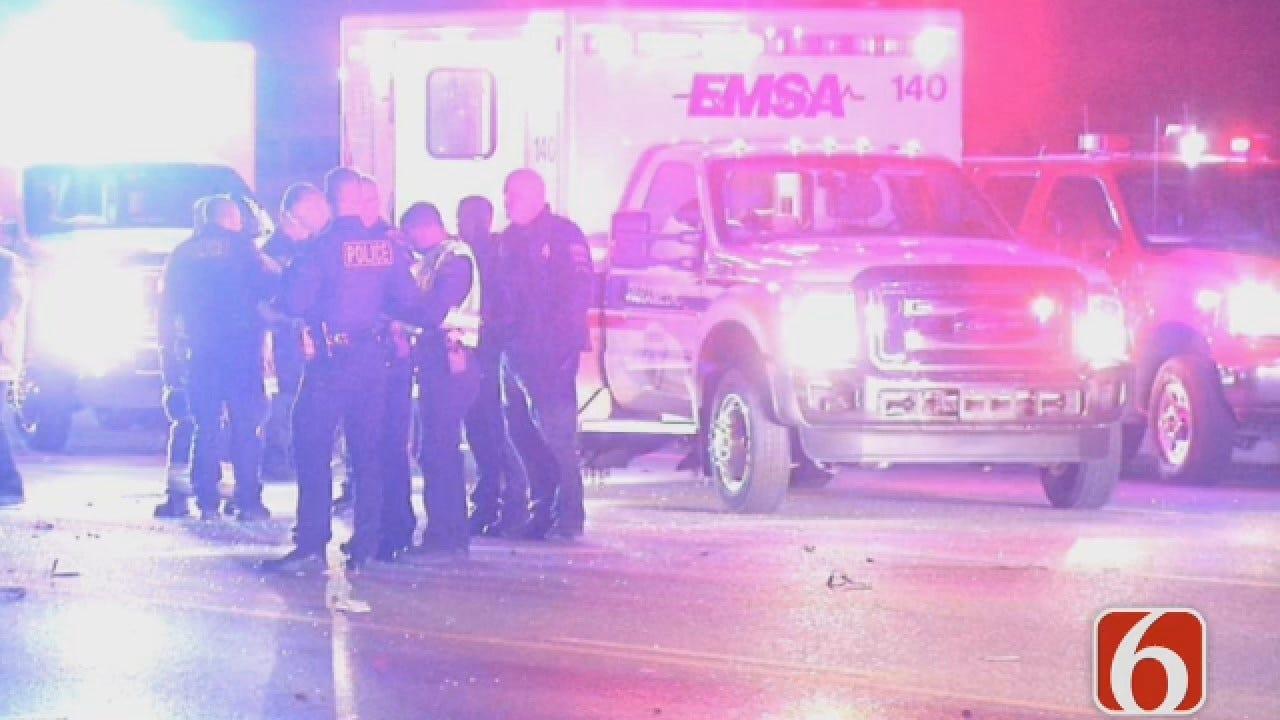 Joseph Holloway Reports On Fatal Tulsa Crash