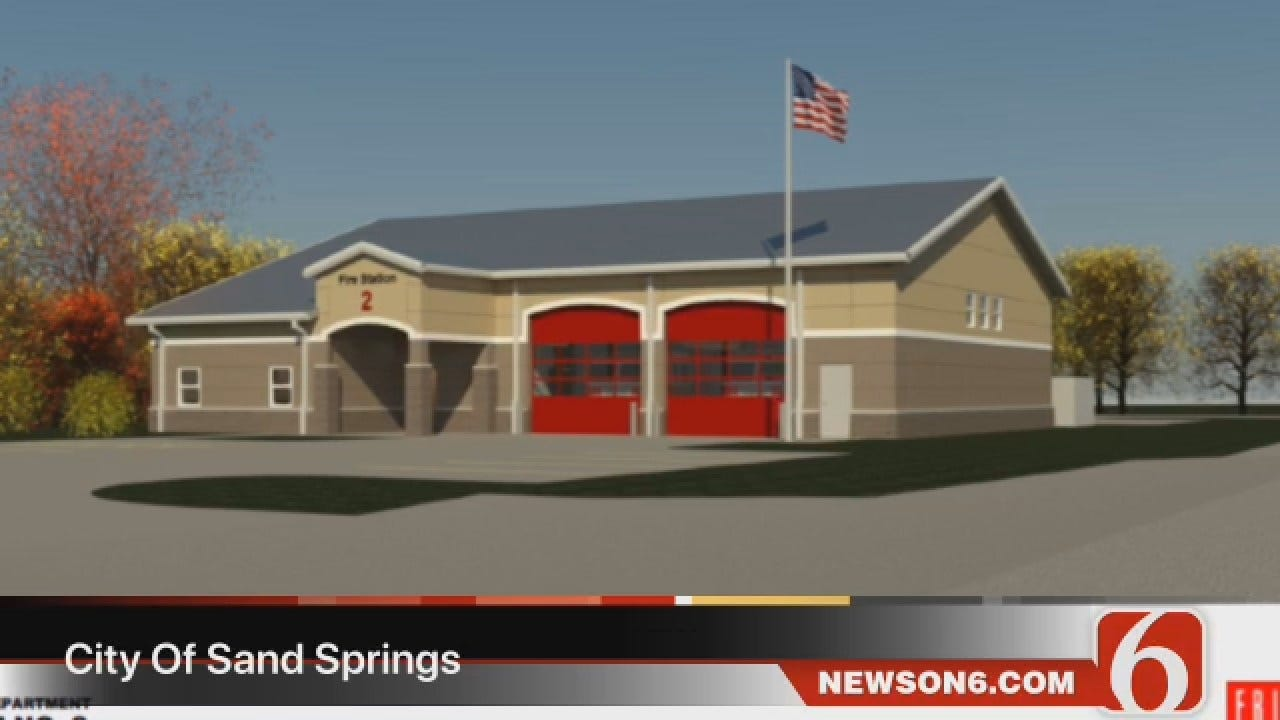 Dave Davis Says Sand Springs Is Getting A New Fire Station
