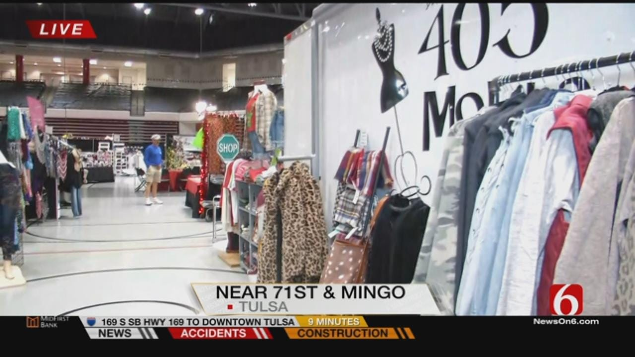 Junior League Of Tulsa Opens Holiday Market