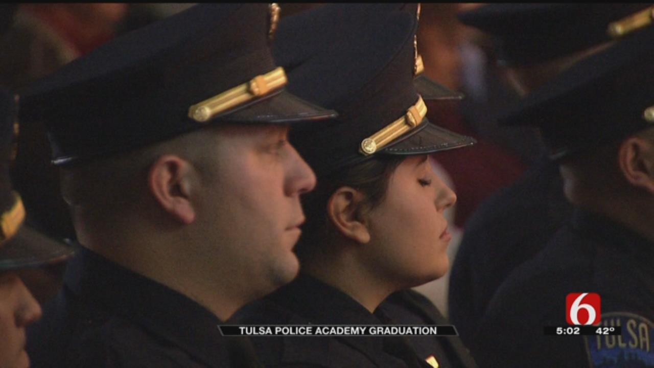 Nearly 30 New Academy Graduates Join TPD Ranks