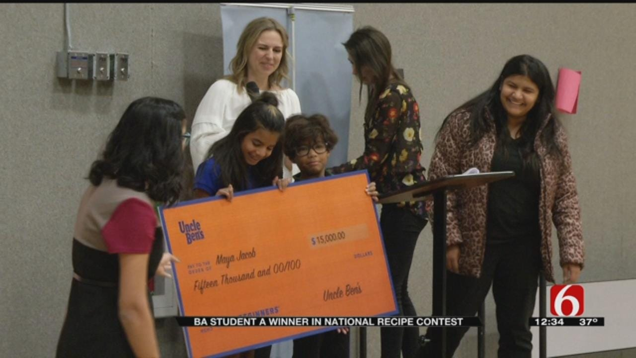 BA 5th Grader Wins $15K For Winning Recipe