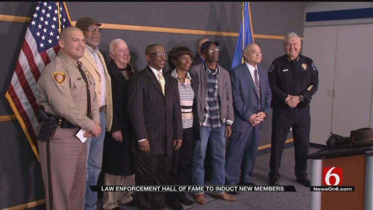 Tulsa Officers, Past and Present, To Be Inducted Into Hall Of Fame