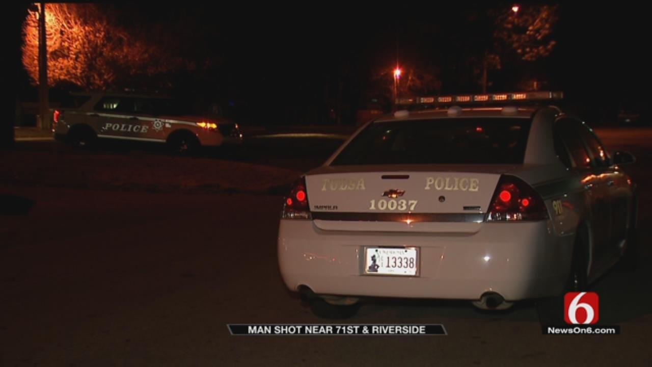 Tulsa Police Search For Suspect In Shooting
