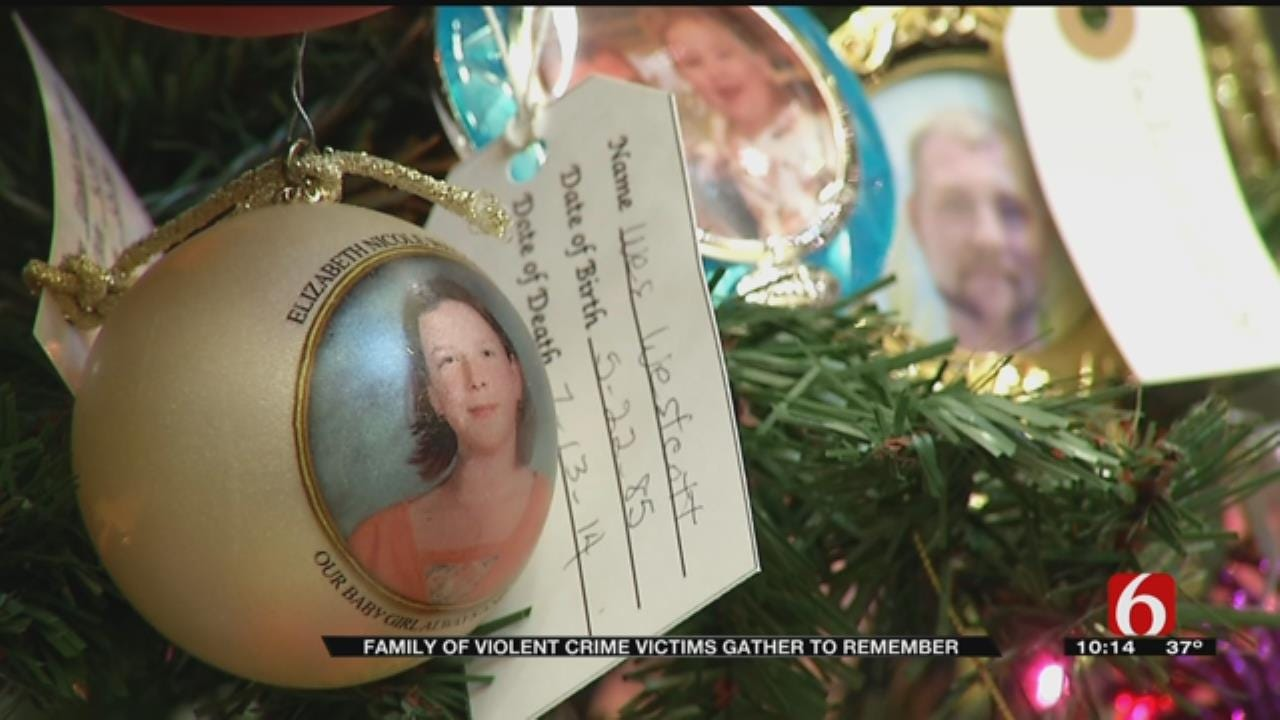Family, Friends Honor Tulsans Killed In Violent Crimes On 'Tree Of Remembrance'