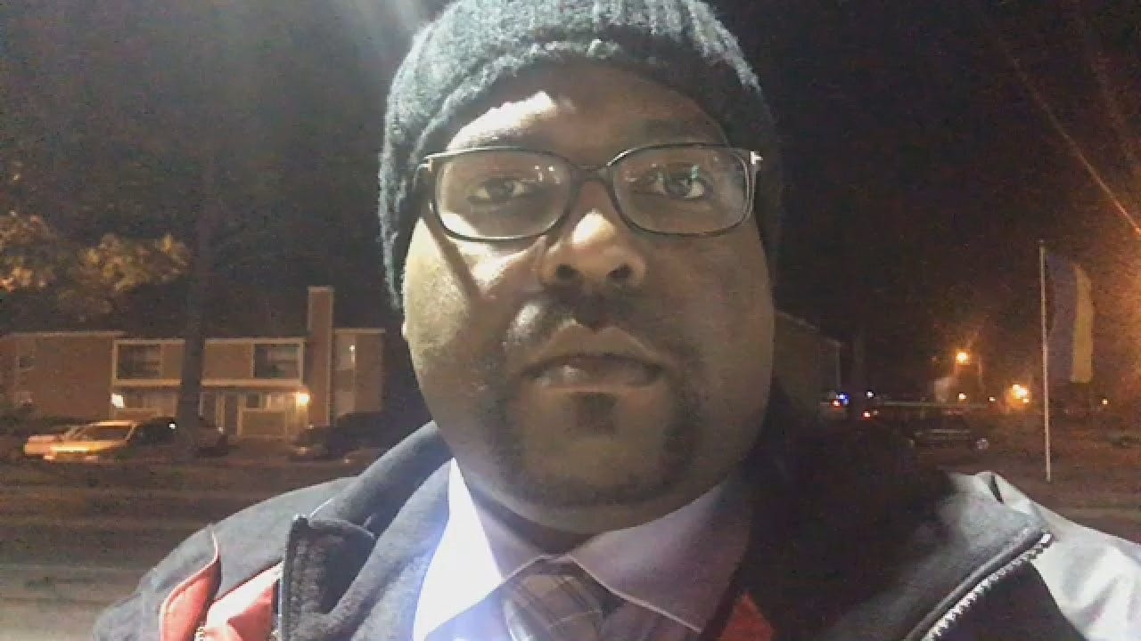 Joseph Holloway Reports On Tulsa Shooting