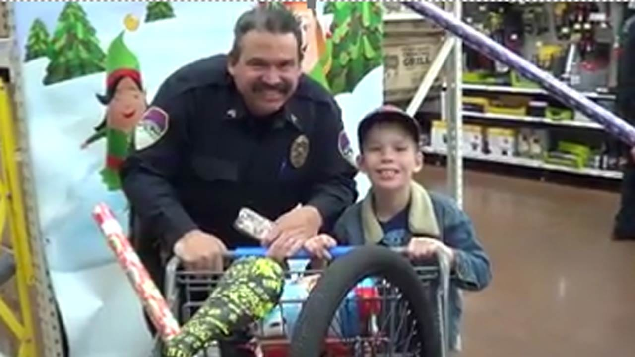 Donate To Help McIntosh County 'Shop With A Cop' Kids