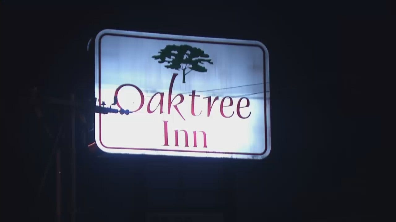 WEB EXTRA: Man Robbed Outside Tulsa Motel