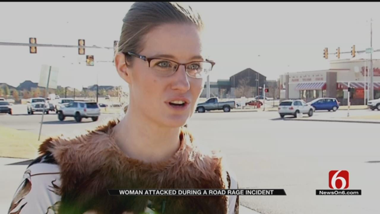 Tulsa Woman Says She Was Attacked During Road Rage Incident