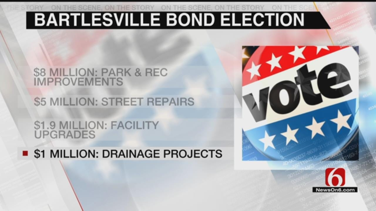Bartlesville Voters To Vote On More Than $16 Million In Bond Issues