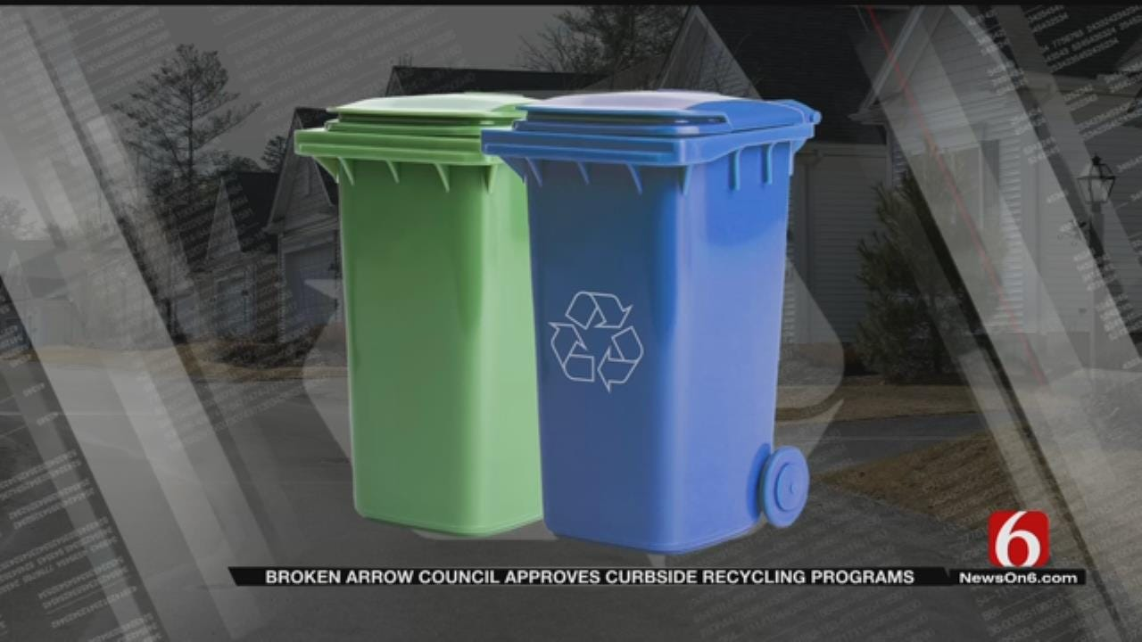 Broken Arrow To Soon Roll Out Curbside Recycling