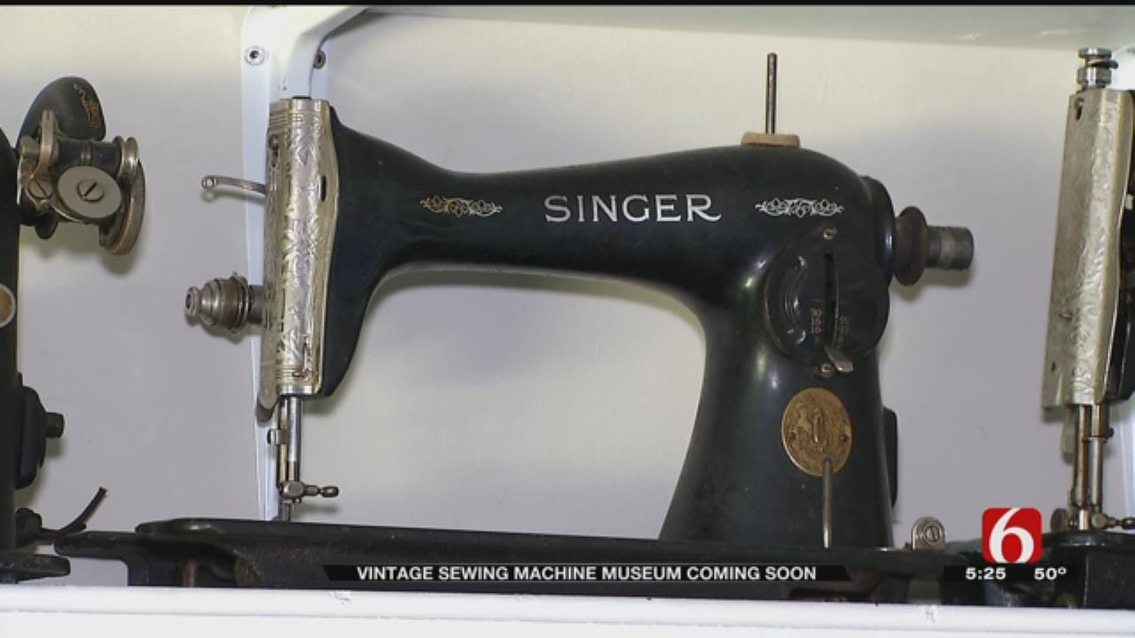 Hands-On Sewing Machine Museum Coming To Tulsa