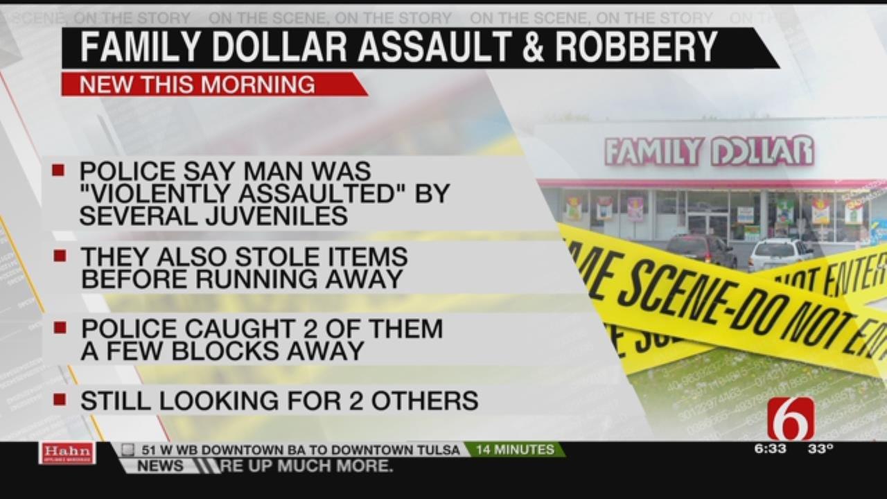 Police: Teens On The Run After Violent Tulsa Assault