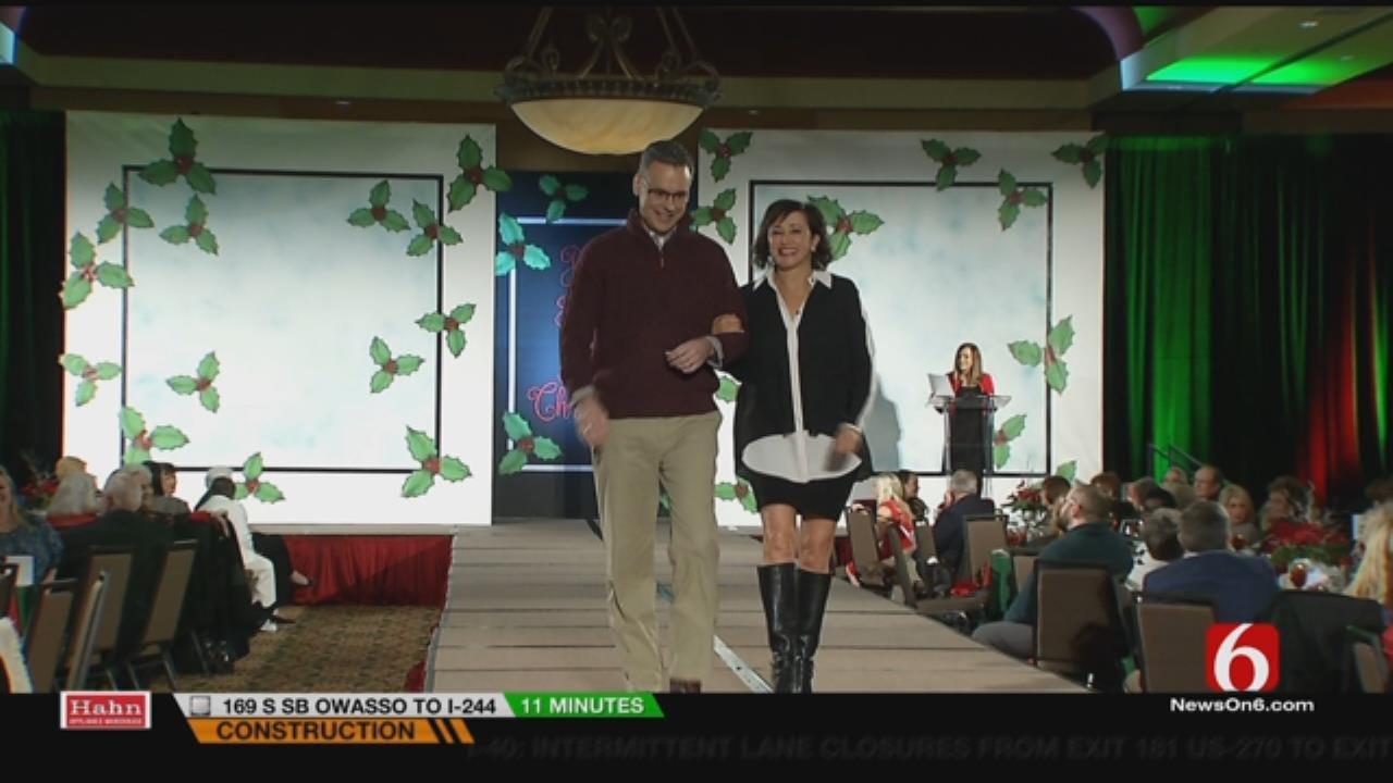 Terry Hood, Alan Crone, Lori Fullbright Strut Stuff At Fundraiser Fashion Show