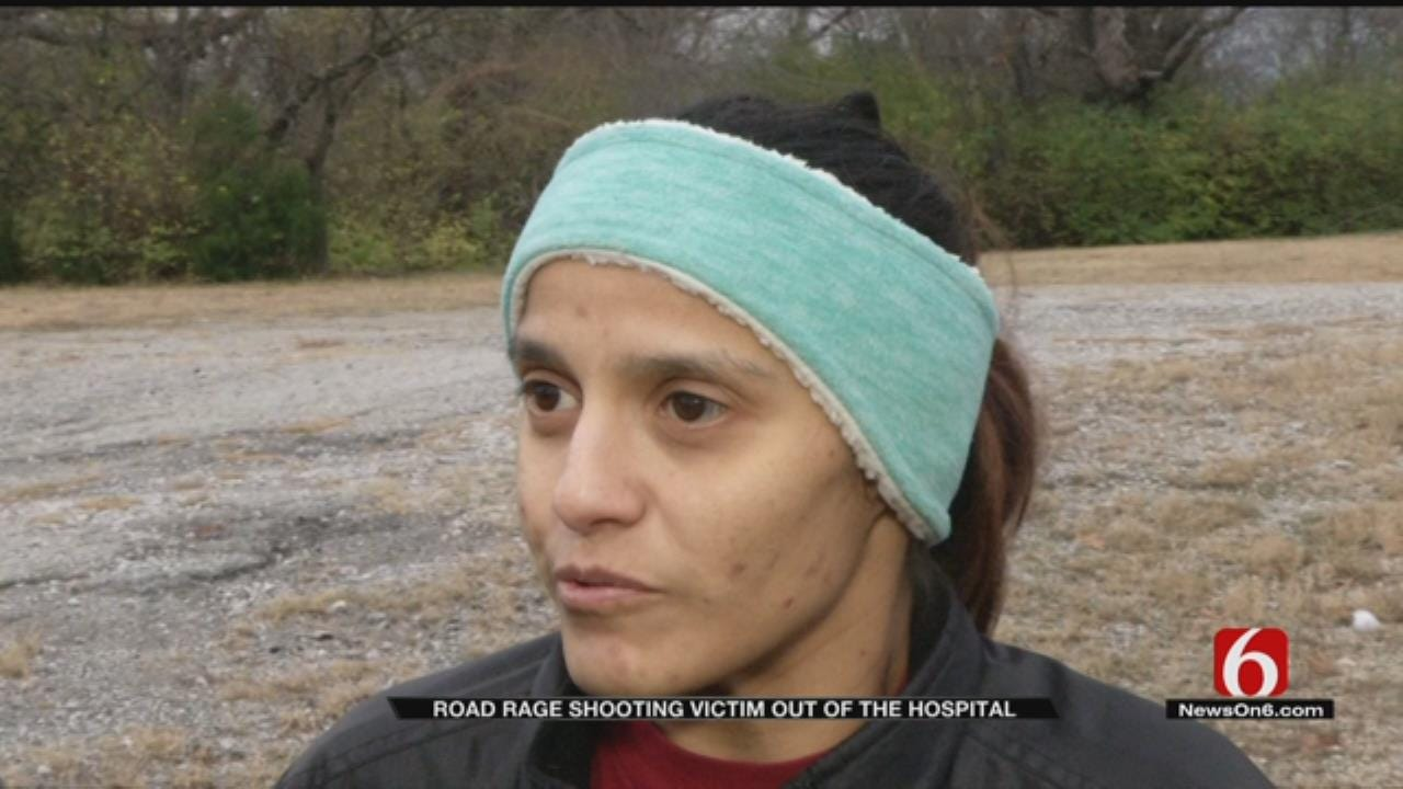 Police: Tulsa Road Rage Victim Shot In Neck