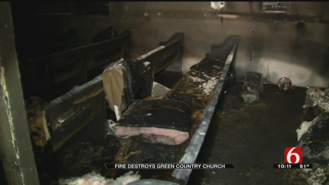 Mayes County Church Loses Almost Everything In Fire