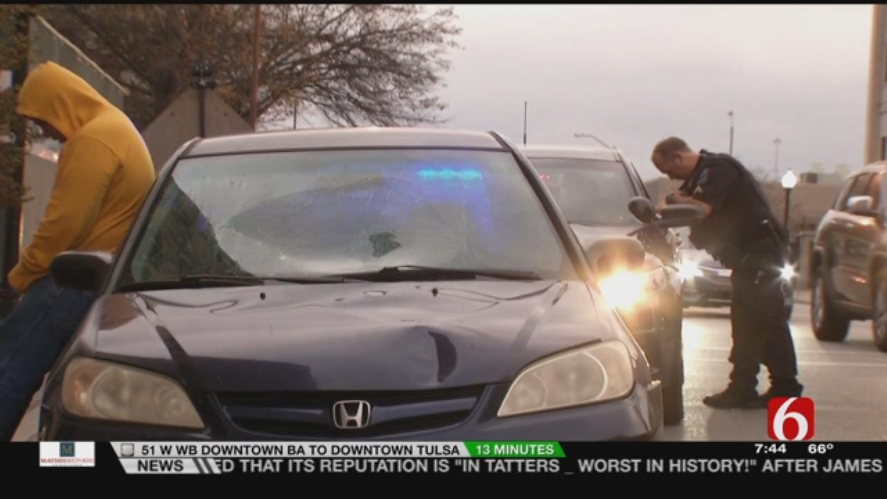 Elderly Woman Hit By Car In Downtown Tulsa