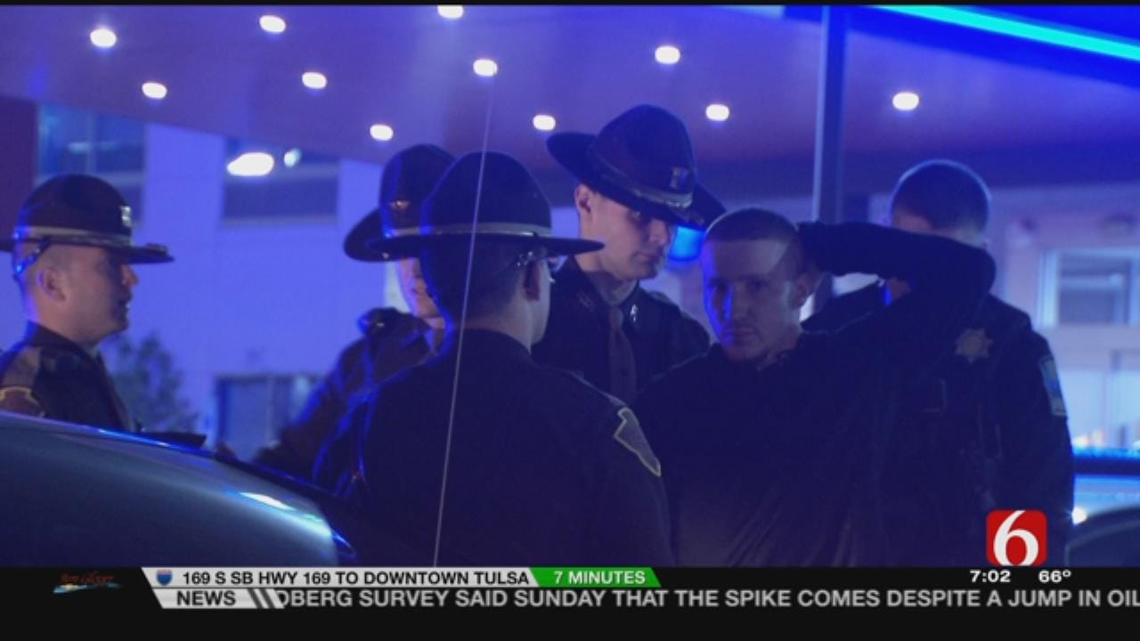 OHP: Man In Stolen Toyota Leads Tulsa Pursuit