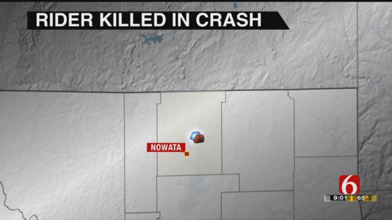 Nowata Woman Dies In Motorcycle Crash